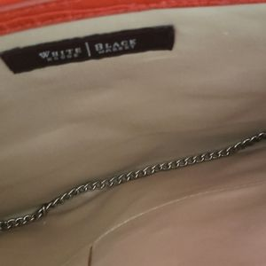 Croco purse. Super cute. Roomy, no stains.